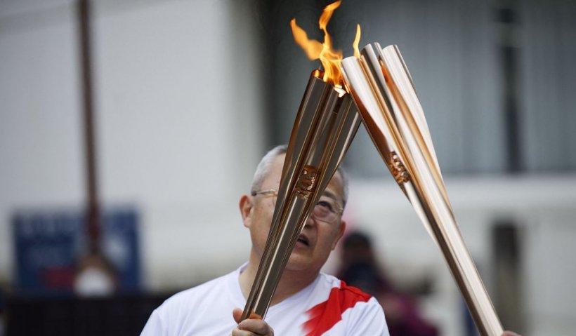 Pandemia de COVID oprește ștafeta flăcării olimpice la Tokio