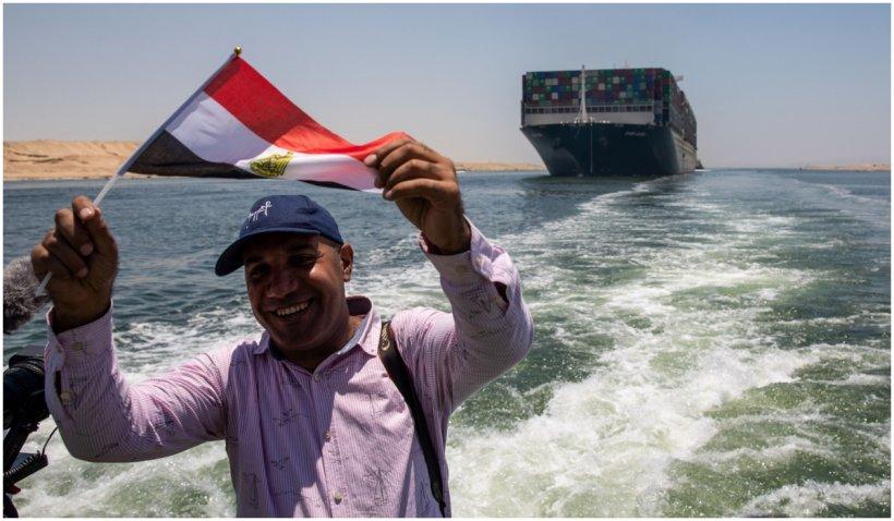 Nava Ever Given a părăsit Canalul Suez, la trei luni după ce a blocat calea navigabilă