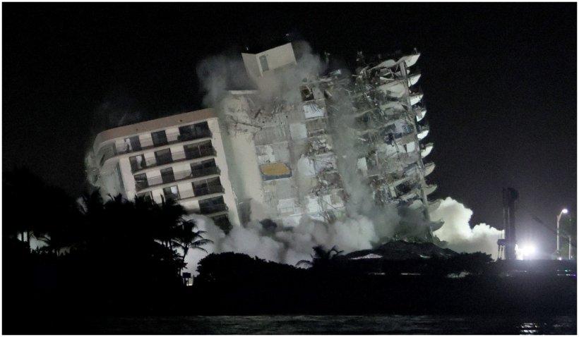 Autoritățile renunță la căutarea de supraviețuitori în ruinele blocului prăbușit din Miami: 86 de persoane încă dispărute