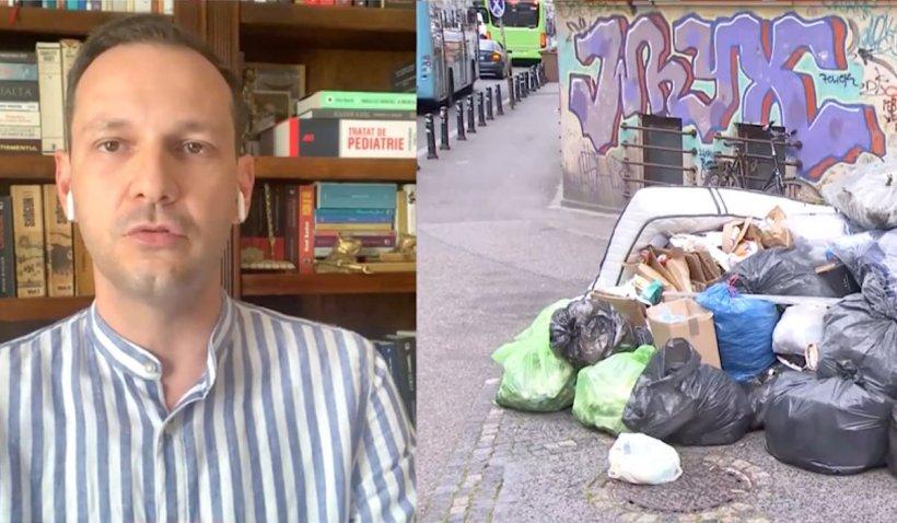 """Medicul Radu Țincu, despre efectele aerului toxic din Sectorul 1: """"Poate crește incidența bolilor"""""""