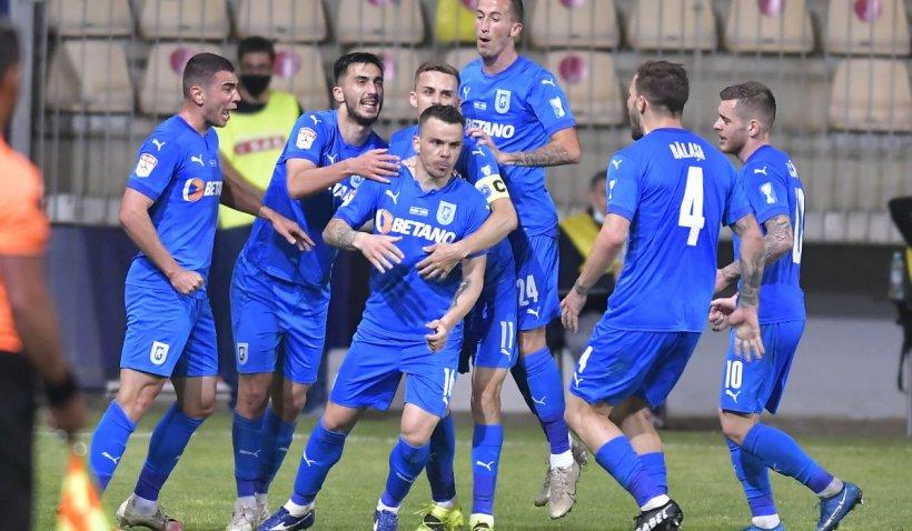Universitatea Craiova a câştigat Supercupa României, după ce a învins CFR Cluj la penalty