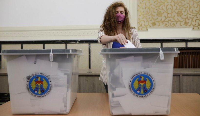 Alegerile parlamentare din Moldova ar fi fost câştigate de Partidul Acţiune şi Solidaritate (pro-european)