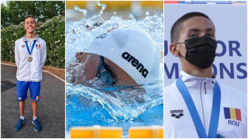 David Popovici, a treia medalie de aur la Campionatele Europene de înot de la Roma