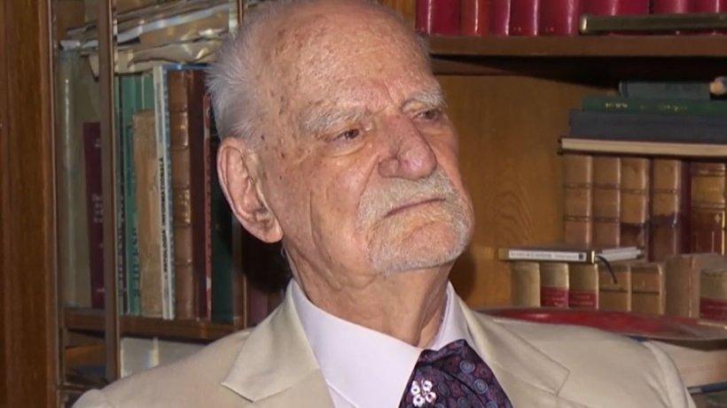 Interviu cu academicianul Constantin Bălăceanu Stolnici, urmașul lui Vlad Țepeș. Ultimul boier al României a împlinit 98 de ani