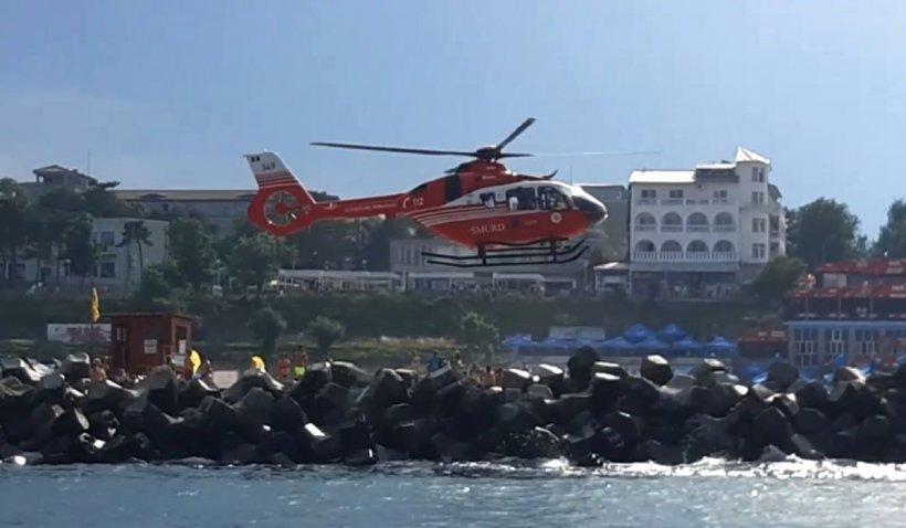Doi copii lăsaţi nesupravegheaţi au ajuns cu o saltea în largul mării, în Eforie Nord