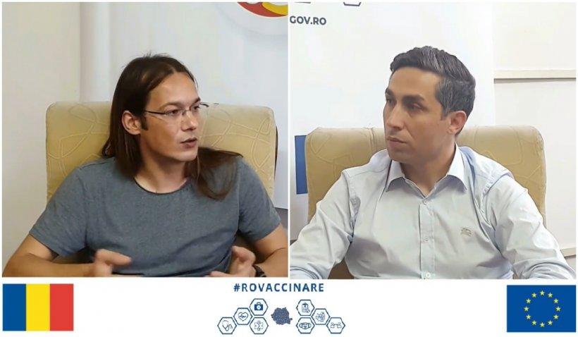Dr. Valeriu Gheorghiță şi-a lansat luni propria serie de interviuri pe platforma RoVaccinare