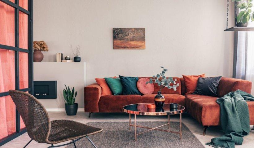 10 canapele care te vor convinge că o canapea colorată este o canapea grozavă
