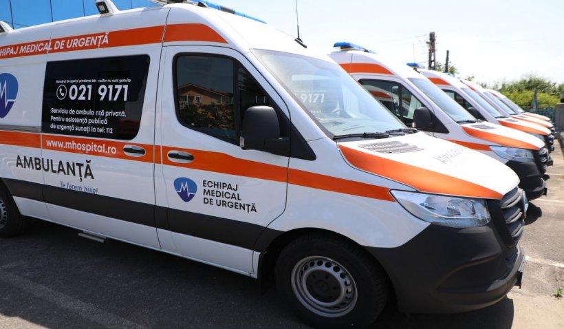 M Ambulanță – partenerul sănătății tale NON-STOP