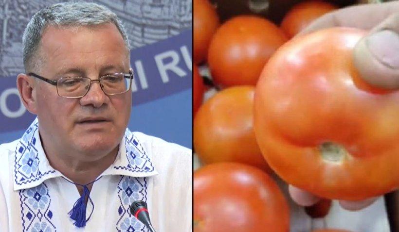 """Ministrul Agriculturii, despre roşiile cu insecticide din pieţele româneşti: """"Contează dacă s-a depăşit limita maximă admisă"""""""