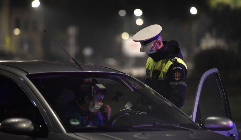 Poliţist prins băut la volan, după ce a fost tamponat în trafic la Timiş