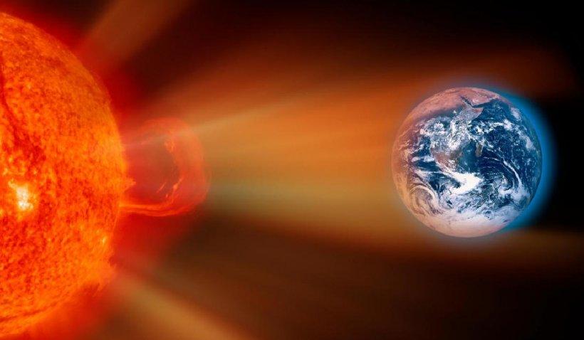 O furtună solară puternică va lovi miercuri Pământul. Reţelele electrice la nivel mondial ar putea fi afectate