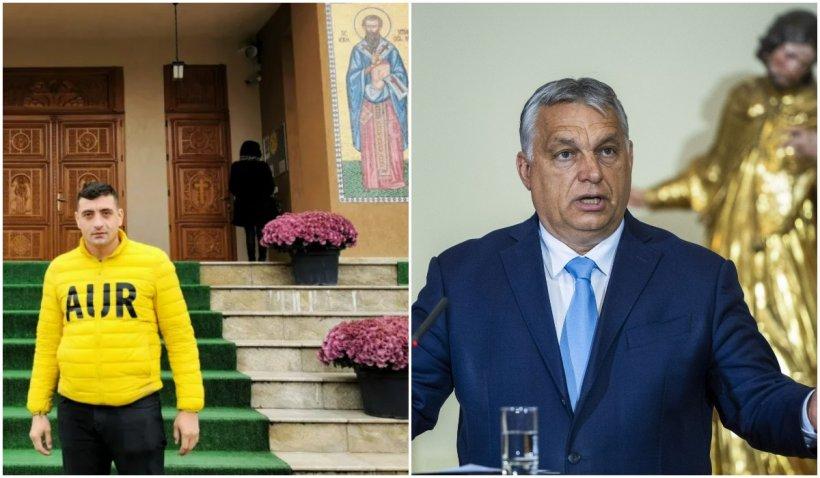 """George Simion se compară singur cu premierul Ungariei: """"Sunt Viktor Orban al României, pentru că AUR şi Fidesz au aceeaşi ideologie"""""""