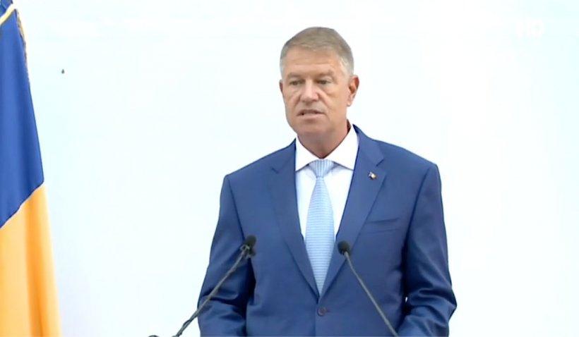 """Klaus Iohannis, la recepția de Ziua Franței: """"România și Franțase bucură de o prietenie de lungă durată"""""""
