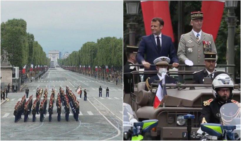 Parada militară de Ziua Națională a Franței VIDEO