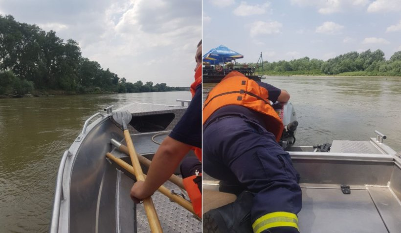 O femeie de 47 de ani din Arad s-a drogat și s-a aruncat în râul Mureș. ISU efectuează căutări