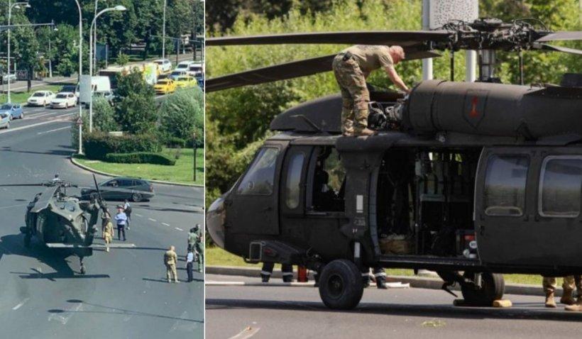 Glume pe seama elicopterului prăbușit din Capitală: S-a împiedicat de un munte de gunoi