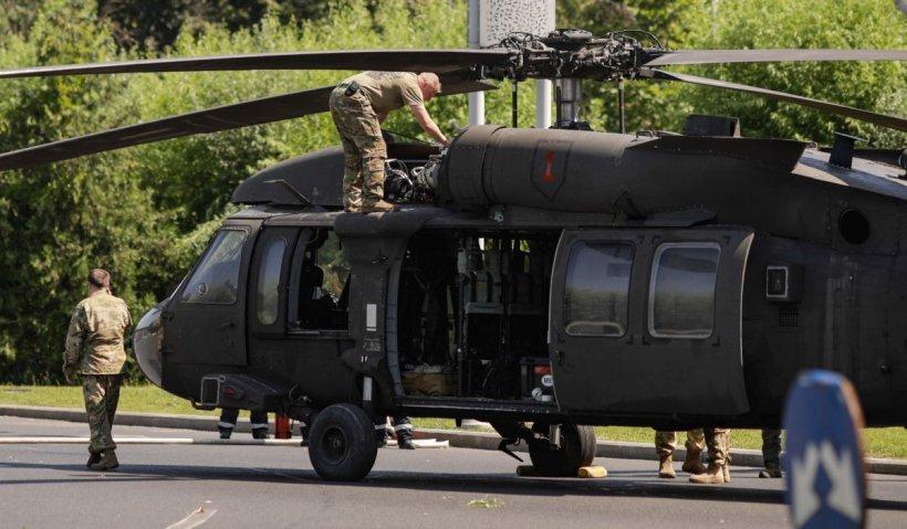 """Ambasada SUA, reacție după aterizarea forțată a elicopterului militar: """"Lucrăm alături de partenerii români pentru a rezolva situația"""""""