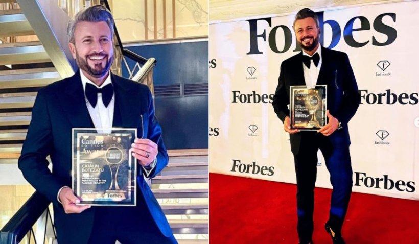 Cătălin Botezatu a făcut senzație la Cannes 2021. A fost premiat pentru întreaga sa carieră