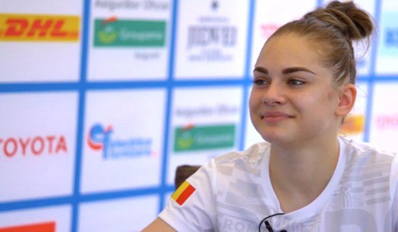 """Gimnasta Maria Holbură va reprezenta România la Jocurile Olimpice de la Tokyo: """"La asta am visat de când eram mică"""""""