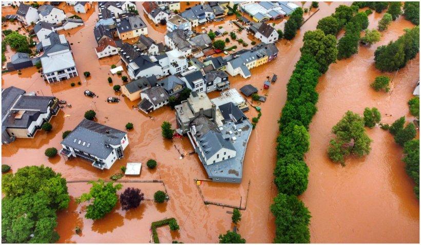 Inundațiile din vestul Europei au ucis peste 120 de persoane