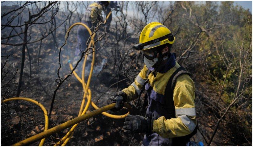 Spania şi Marea Britanie, lovite de incendii de vegetaţie