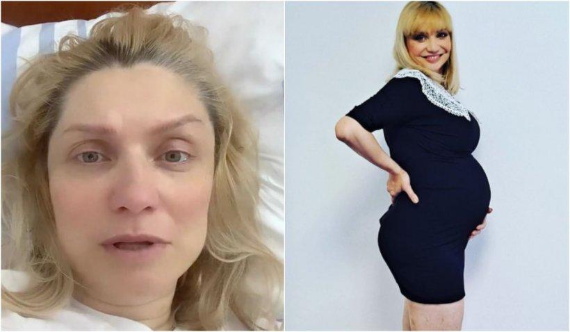 """Cristina Cioran a născut prematur: """"Rugați-vă pentru mine, dar mai mult pentru ea"""""""