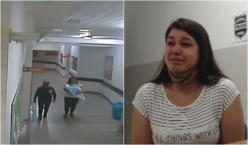 O mamă a încercat să fugă cu bebelușul altei persoane, după ce al său s-a născut mort, în Brazilia