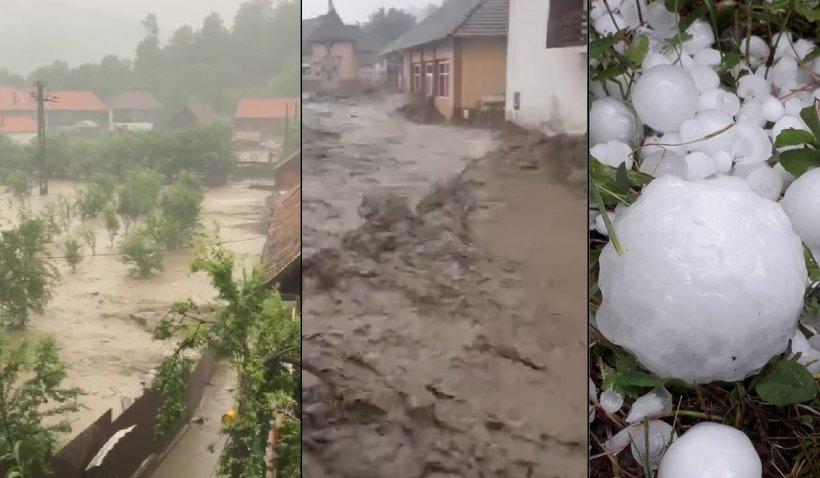 """Lucian Bode, despre bilanţul inundațiilor: """"Au fost afectate 80 de localități din 20 de județe şi au fost semnalate 2 decese"""""""
