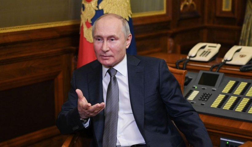 """Vladimir Putin vântură spectrul unei noi anexări în Ucrania: """"Kievul nu are nevoie de Donbas, sunt tot mai convins de asta"""""""