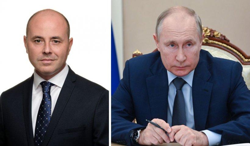 """Consilierul premierului Cîțu reacționează după 9 zile la """"manifestul"""" lui Vladimir Putin despre Basarabia și Bucovina"""