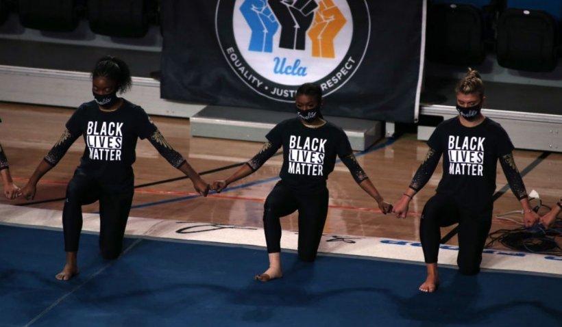Comitetul Olimpic International, în conflict cu Black Lives Matter după ce interzice promovarea sportivilor care îngenunchează în semn de protest