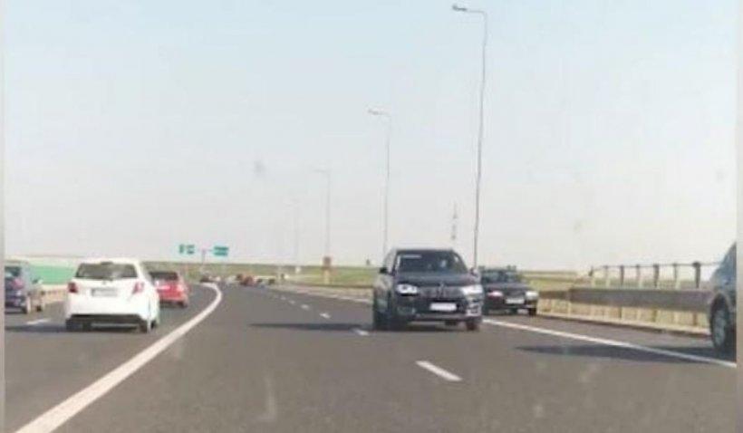 Un român, prins pe contrasens pe o autostradă din Ungaria. A fost la un pas să producă o tragedie