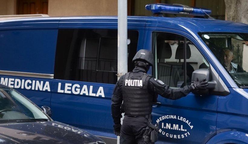 Bărbat găsit mort într-o cutie de metal, în zona Patriarhiei din Bucureşti