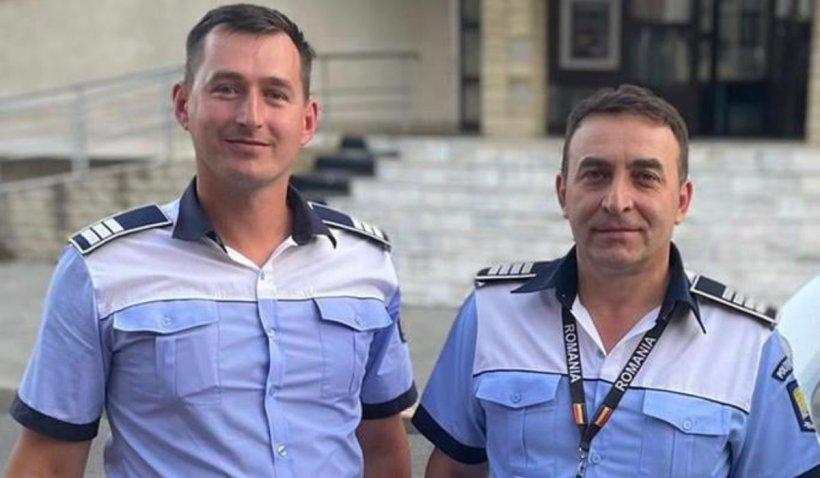 """Doi poliţişti din Fălticeni au readus la viaţă un tânăr care a făcut infarct în maşină: """"Nu suntem eroi"""""""