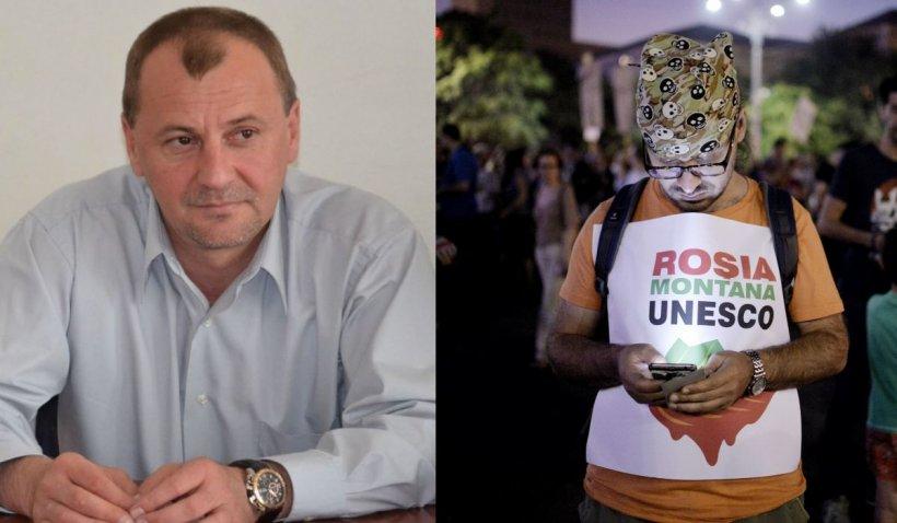 """Primarul din Roșia Montană crede că includerea sitului în patrimoniul UNESCO este """"defavorabilă și pentru comunitate, și pentru țară"""""""