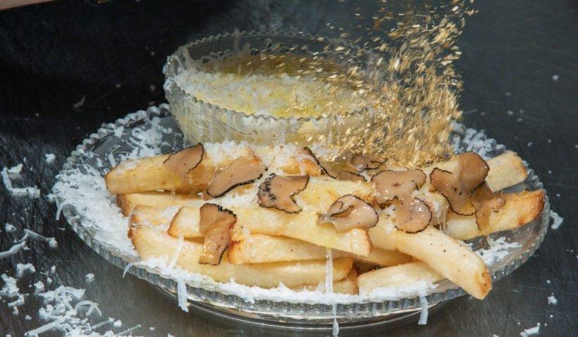 Restaurantul care vinde cartofi prăjiți de 200 de dolari porția. Pe porție se presară praf de aur iar lista de așteptare ajunge la câteva săptămâni