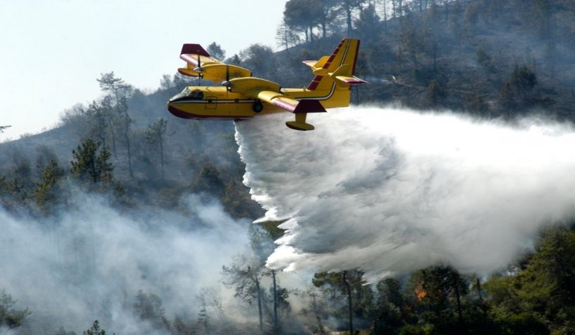 Incendiile de vegetație se apropie de țara noastră. Bulgaria arde: 60 de hectare de pădure sunt mistuite de foc într-o localitate din centrul țării