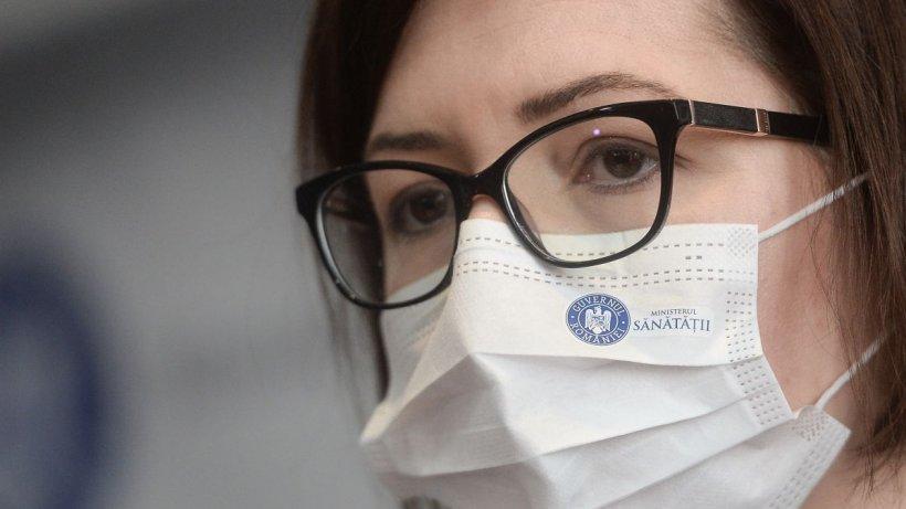 Ioana Mihăilă: Ne așteptăm la peste 1.600 de cazuri pe zi înainte de 15 septembrie