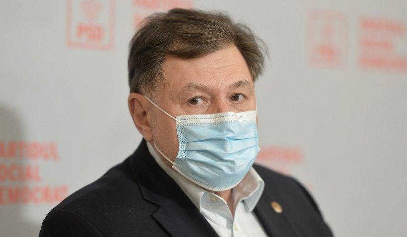 """Alexandru Rafila: """"Dacă nu se schimbă nimic în campania de vaccinare, nu există mari speranțe. Nu se poate să spui că nu știi ce să faci"""""""