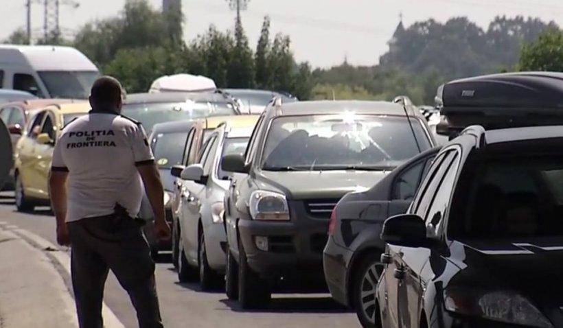 Cozi de kilometri la Vama Giurgiu. Românii din Grecia se întorc acasă