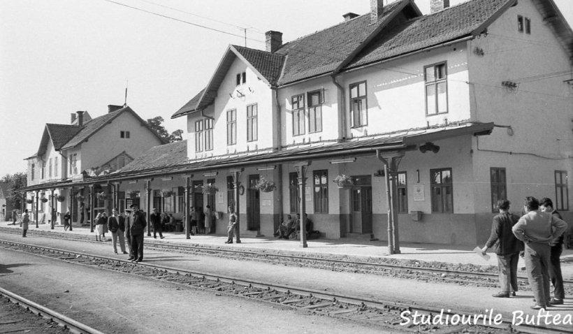 Imagini de colecție cu calea ferată a României în 1965