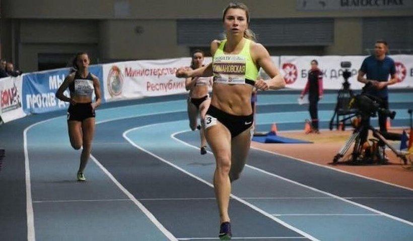 Kristina Țimanovskaia, o sportivă trimisă de Belarus la Jocurile Olimpice, refuză să se întoarcă în țară. Ea urma să ceară azil în UE