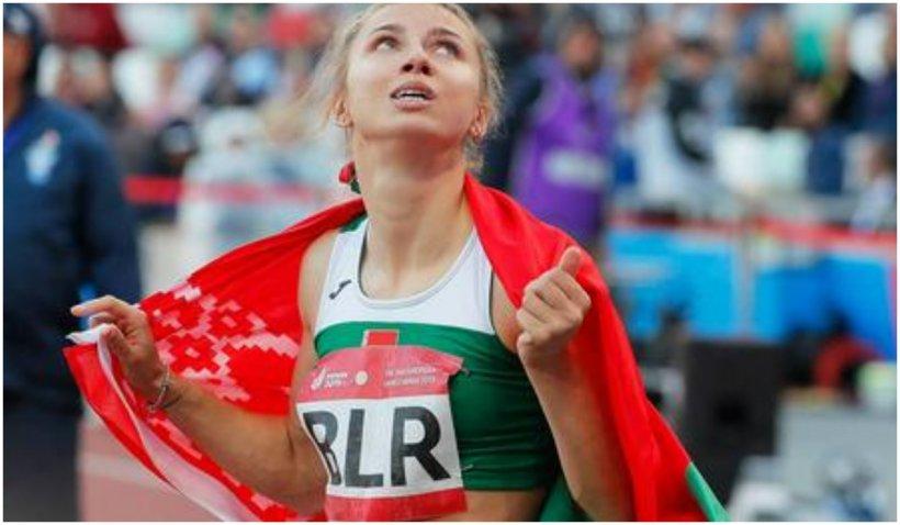 Cehia și Polonia oferă viză atletei din Belarus forțată de autoritățile țării sale să plece acasă