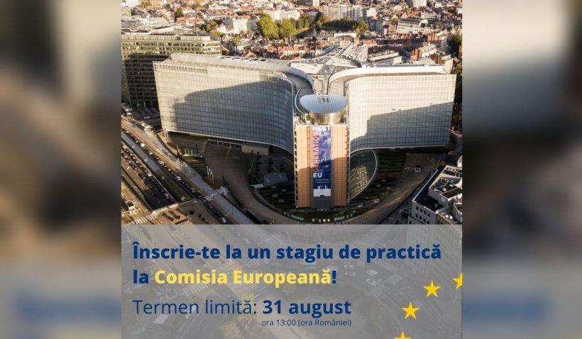 """Comisia Europeană a dat startul înscrierilor la stagiile de practică plătite """"Blue Book"""""""