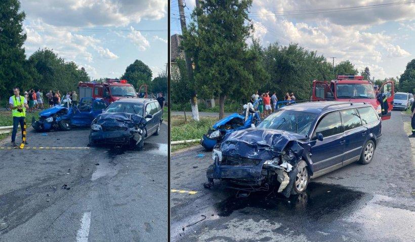 Accident cumplit la Cuvin, Arad. O femeie a murit şi un copil a fost rănit