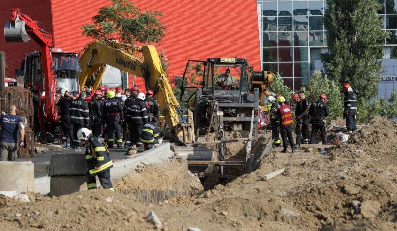 Acuzațiile muncitorilor de la Biblioteca Națională: Fără minimă protecție pe șantierul morții