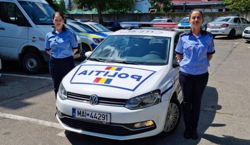 Două poliţiste din Iaşi au salvat un bătrân, au dirijat traficul şi au rezolvat un accident