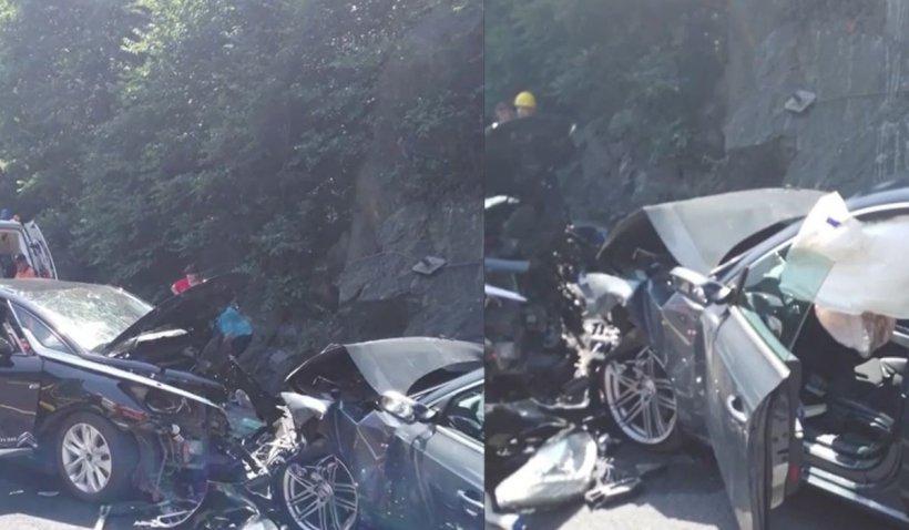 O femeie şi un bărbat au murit într-un cumplit accident pe DN1, în Braşov