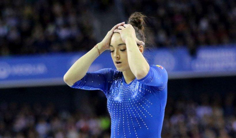 """Larisa Iordache, mesaj emoţionant după retragerea din finala la bârnă: """"Durerea la gleznă e peste limita mea de suportabilitate ca om"""""""