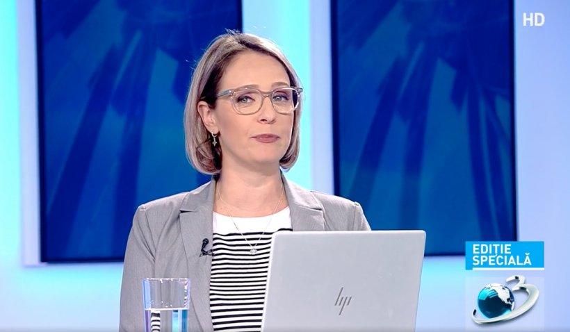 """Maria Coman, prezentatoarea Antena 3, are COVID, deși este vaccinată: """"Am ratat liniștită primele 3 valuri de pandemie"""""""